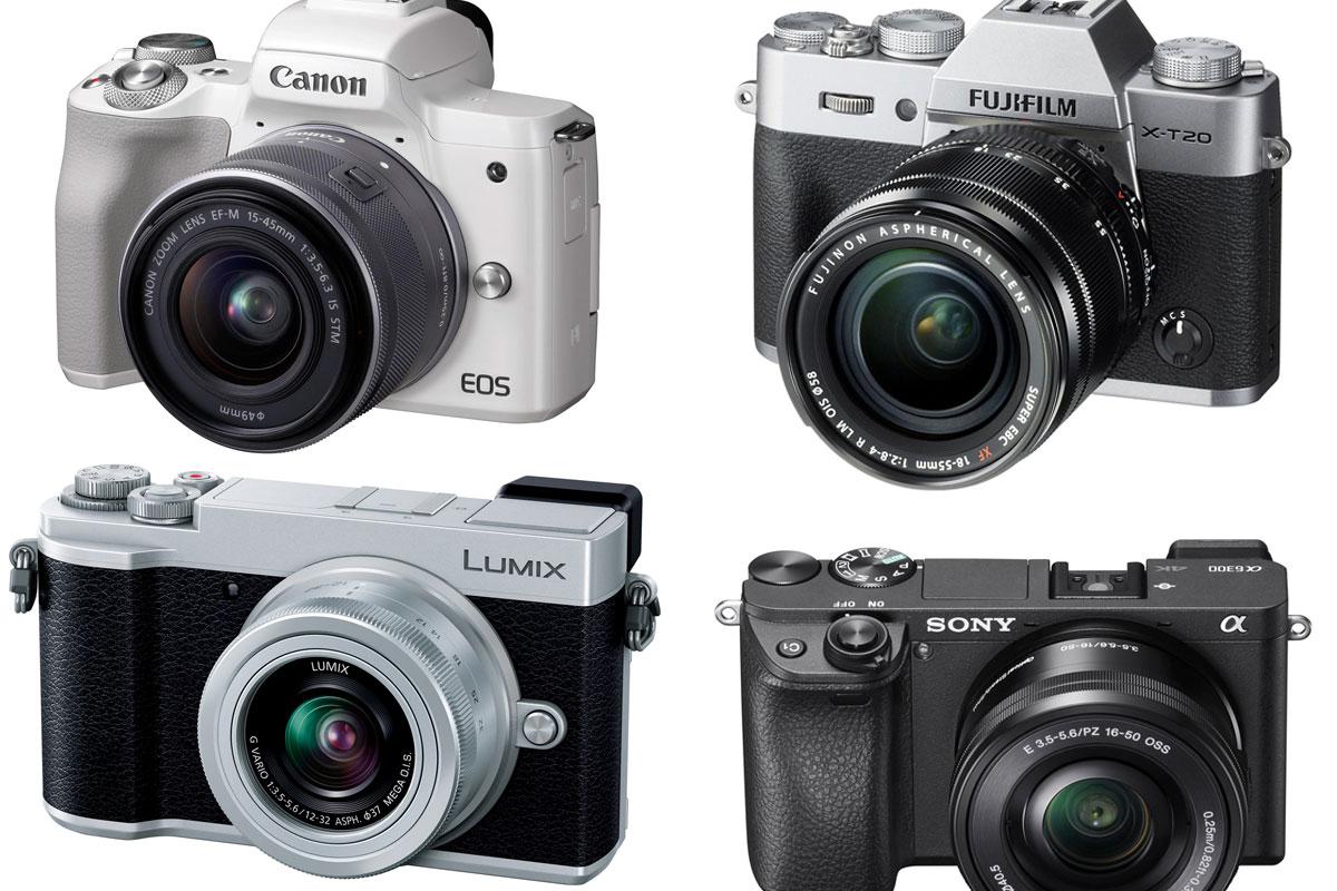 《2018年》この春に手に入れたい! EVF内蔵の小型ミラーレスカメラ5選