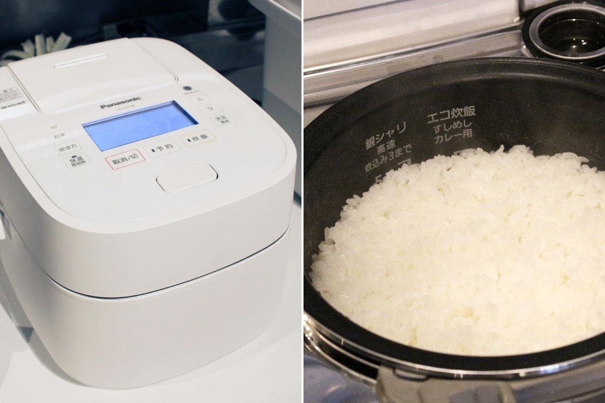 劣化した米も新米レベルに復活! パナソニック「Wおどり炊き」新モデルのこだわりがスゴイ!!