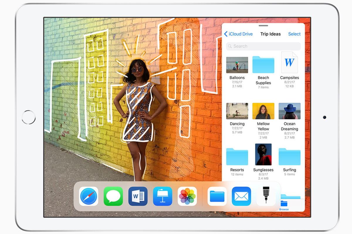 新型iPadはApple Pencil対応! 価格は据え置きの37,800円(税別)から