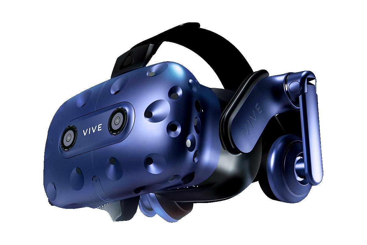 2880×1600にアップしたVRヘッドセット「VIVE Pro HMD」が登場