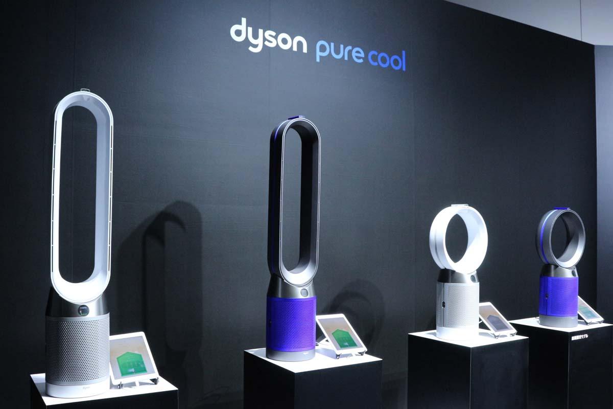 液晶ディスプレイで空気の状態が一目瞭然! ダイソン、空気清浄機能付ファン「Pure Cool」の新モデルを発売
