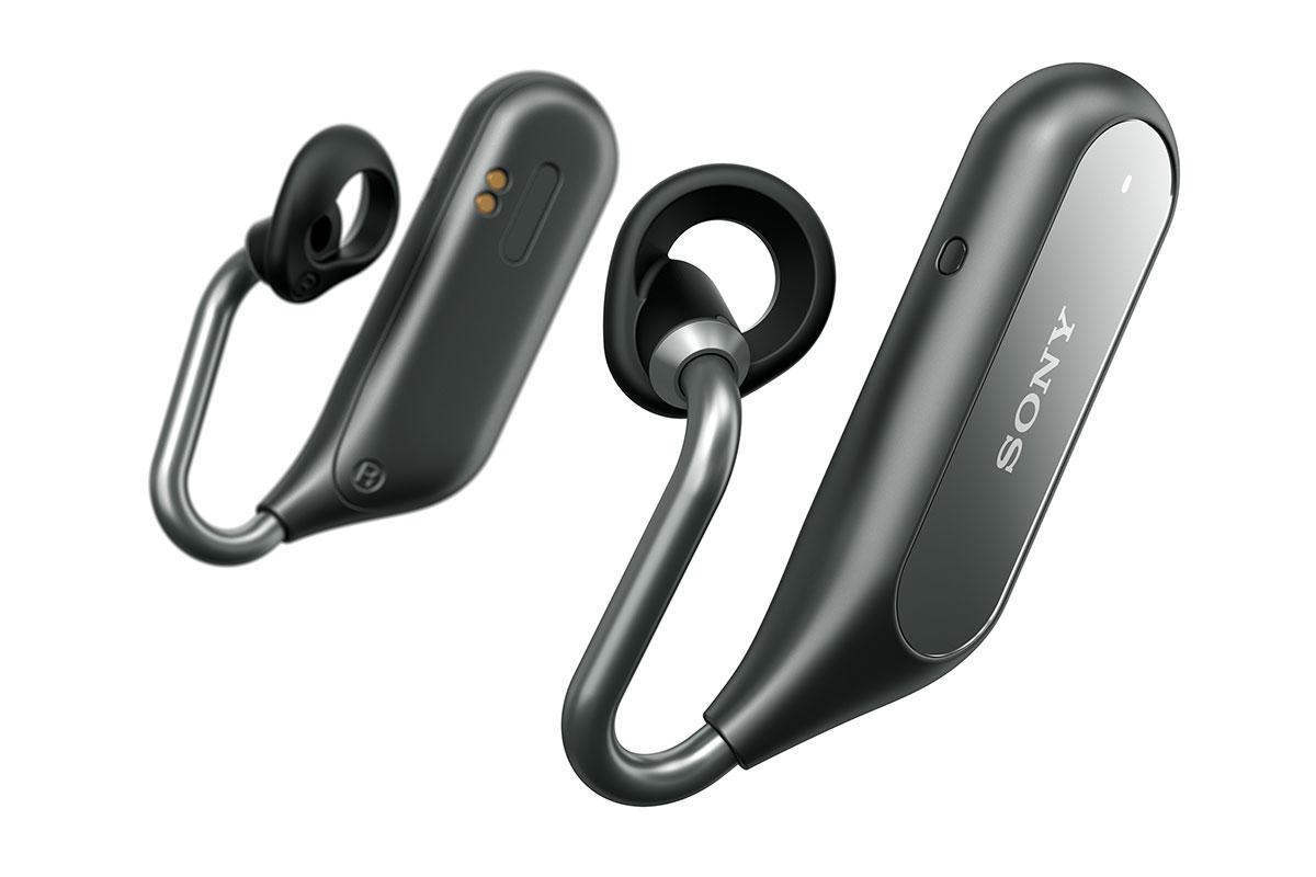 ソニーの耳をふさがない左右独立型ヘッドセット「Xperia Ear Duo」が登場