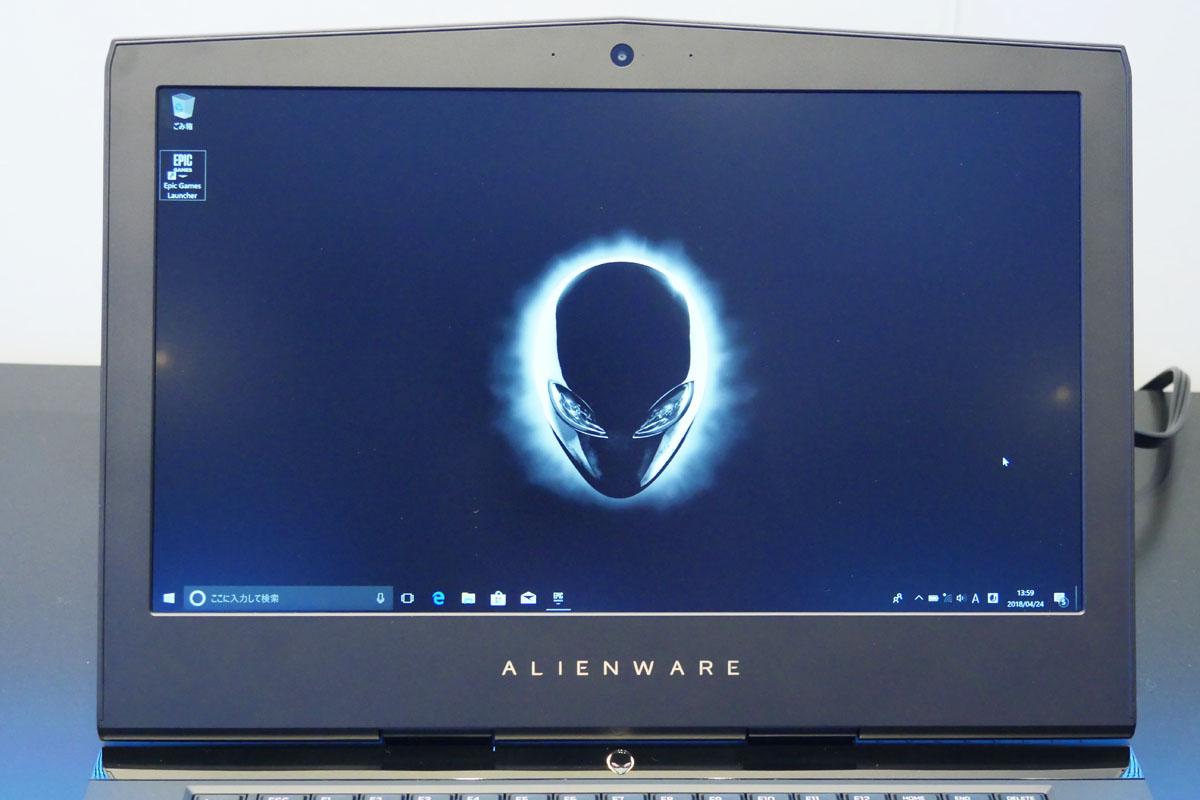 デルがALIENWAREなどゲーミングノートPC一挙5機種を発表