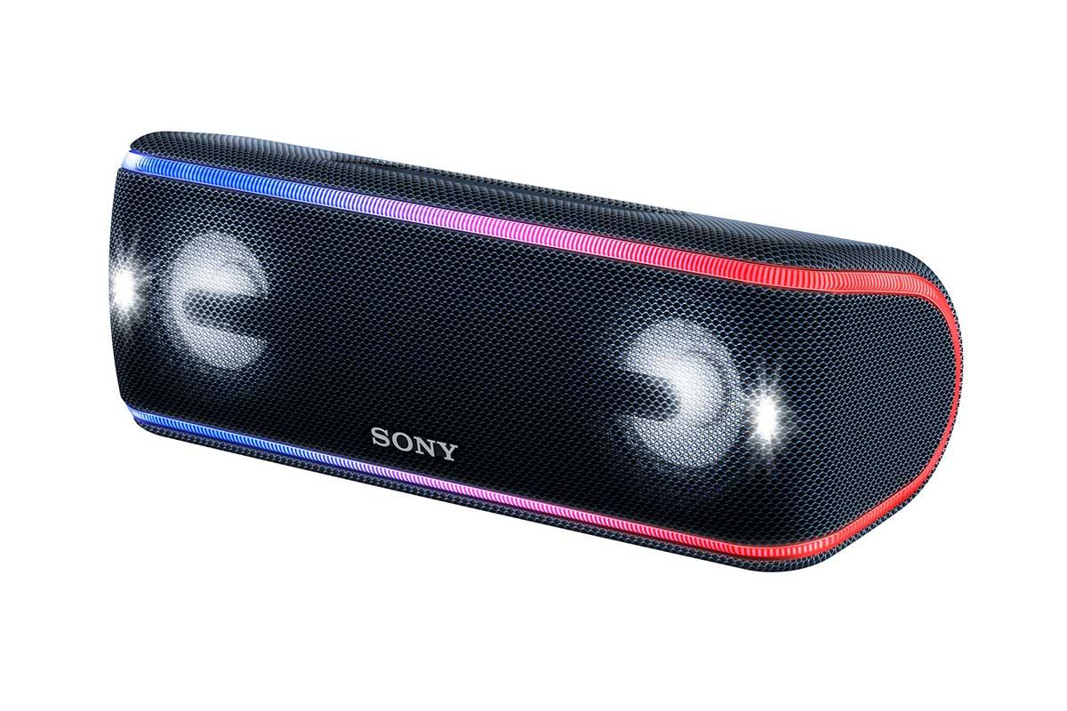 ソニーから、海辺でも使える重低音Bluetoothスピーカー「SRS-XB41」が登場