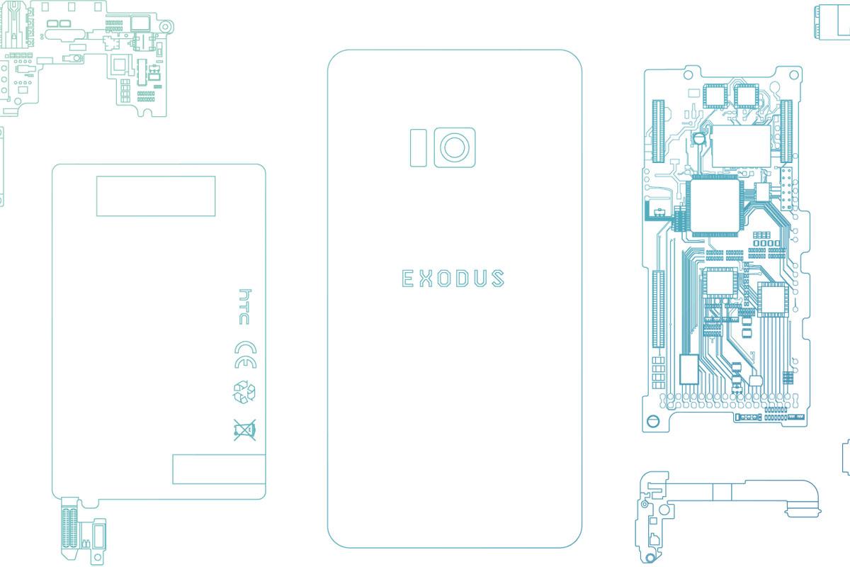 HTCがブロックチェーン採用スマホ「Exodus」を発表