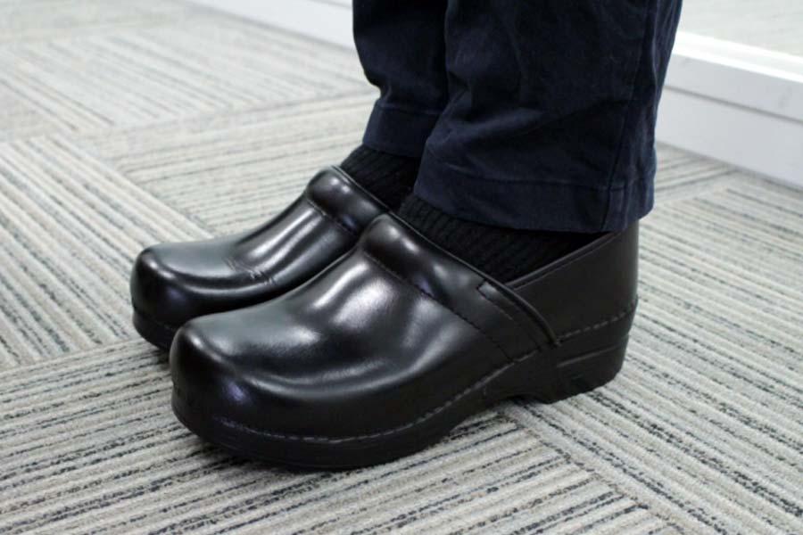 いつもゆったりめの靴を履いていたので「あれ? サイズ間違えたかな?」と一瞬、思いました。