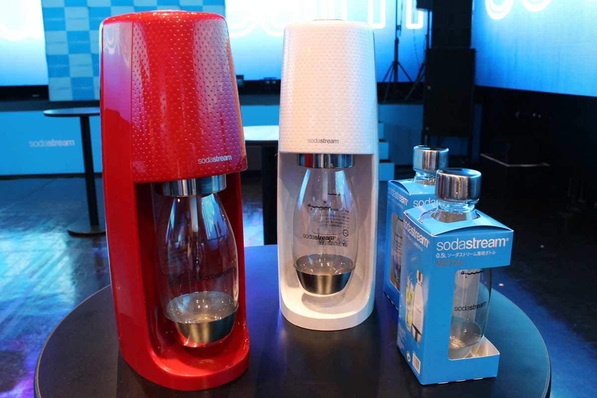 人気の炭酸水マシン「ソーダストリーム」に日本限定ミニサイズが出た