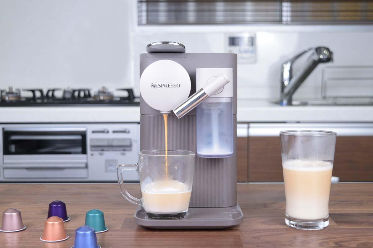 ネスプレッソ「ラティシマ・ワン」なら、ボタンひとつで本格ミルクメニューが楽しめる