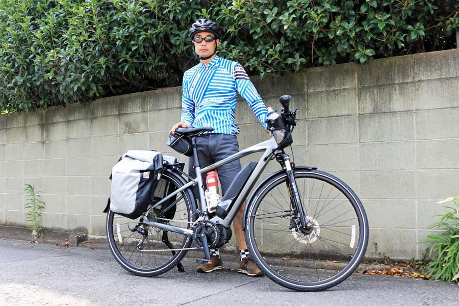 自転車旅にはe bikeもあり ヤマハ ypj tc で 峠込み約70kmの長距離