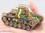 プラモ 「九七式中戦車 チハ 57�o砲塔・前期車台」を組み立ててみました!