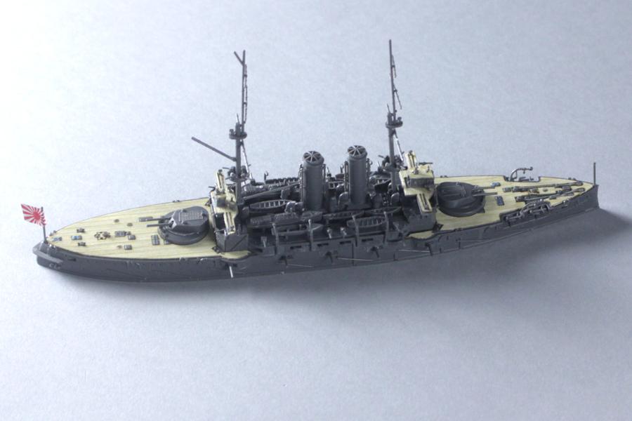 超精巧な「戦艦三笠」1/700スケ...