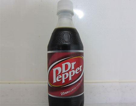 熱狂的なファンの多い「ドクターペッパー」。由緒正しい(?)炭酸飲料です