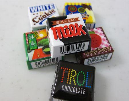 値段の安さに、ついつい大人買いしたくなる「チロルチョコ」