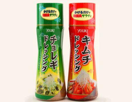 ユウキ食品の「チョレギドレッシング」「キムチドレッシング」があれば、おうちで簡単に韓国風サラダが楽しめます