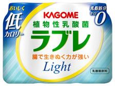 「植物性乳酸菌飲料 ラブレ」 ライト