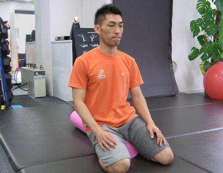 脇の腹筋が伸び縮みするのを意識しましょう