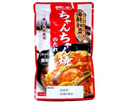 モランボン 海鮮和菜 ちゃんちゃん焼のたれ