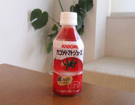 出先でもトマトジュースなら簡単摂取。呑む時に、飲む?!