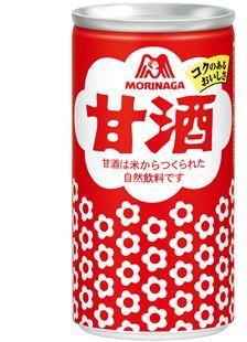 「森永製菓 甘酒」心もからだも癒される、日本の伝統飲料です
