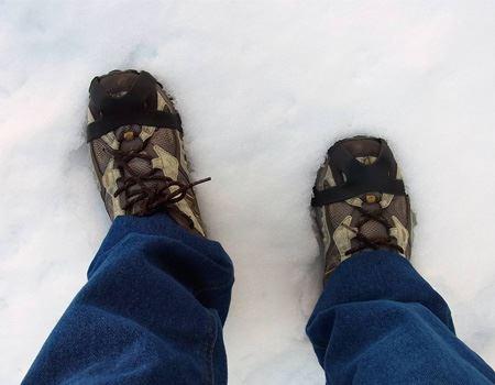 """気持ちよく雪道を歩けました。個人的には、長年気になっていた""""かんじき""""も体験でき大満足でした"""