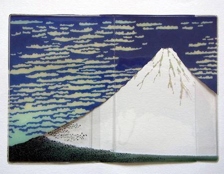 パスポートがないと真っ白の富士山になります