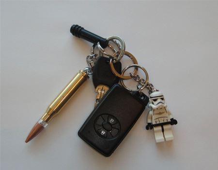 車や家のキーホルダーにさりげなく参加できます