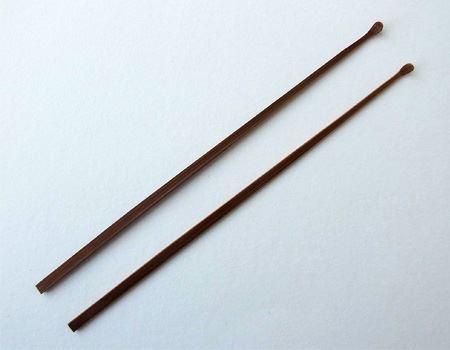 煤竹ならではの茶褐色の落ち着いた色合いも筆者のお気に入りです
