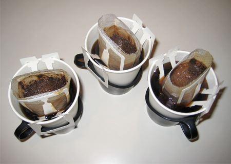 急な来客の時、今まではひとり分のドリップコーヒーを使っていたので、てんやわんやでした