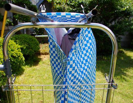 横を開ければ、風も通るので乾きやすいです