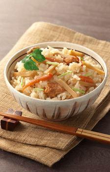「入れ炊く 高知県産 生姜」盛り付けイメージ