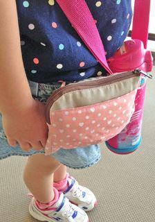 「つれてこポッケ」出かけるときに便利な外付けポケット