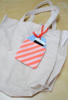 シンプルなバッグと相性がいいようです♪
