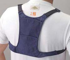 背負って、上着の中にインすれば目立たずに熱中症の対策ができます
