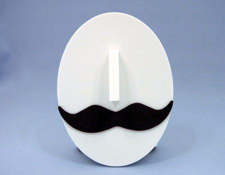 正面から見ても、髭の形が素敵です。髭好きにはたまりません!