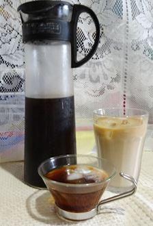 憧れのアイスコーヒーが自宅で再現できました。コクがあるのでカフェオレにも○