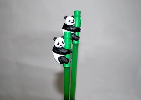 買ったのはこのパンダ。リアルっぽい造形だけどかわいらしいのです