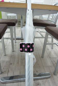 自分の傘の目印に!傘の取り間違えを防止できます