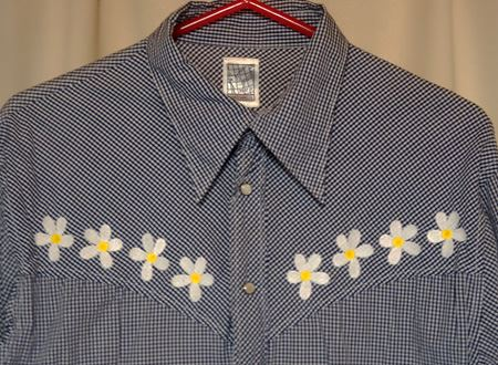 ウン年前に買った某ブランドのシャツ。今の気分じゃないけれど、捨てるには惜しく、タンスの肥やしになっています
