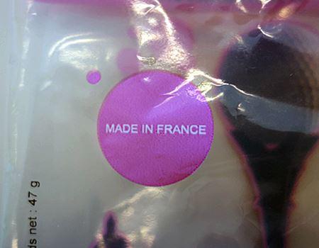 れっきとしたフランス製!