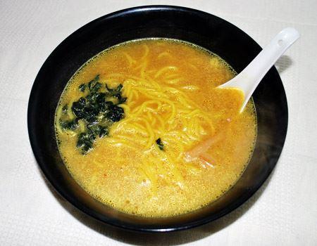 完成しました! カレーのいい香りがただよいます。スープはやわらかいペースト状で、溶かしやすかったですよ