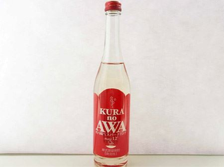 KURA no AWA(蔵のあわ) 〜石の蔵から スパークリング〜
