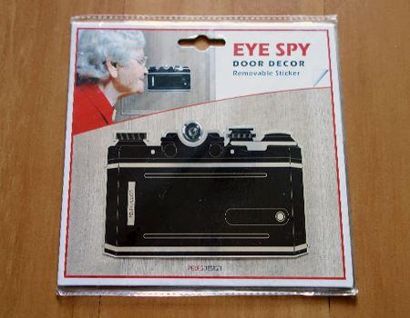 EYE SPY ドアスコープステッカー