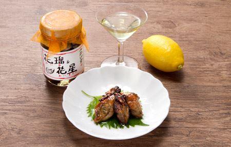 ちょっとレモンを絞って、そのままで白ワインにぴったり! 日本酒やご飯のお供にもGOODですよ