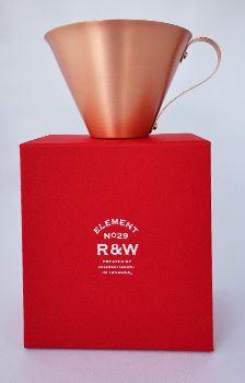 銅の赤色も美しく磨かれ、高級感が漂っていますね