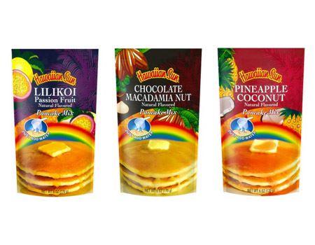 左から、リリコイ、チョコレートマカダミアナッツ、パイナップルココナッツ