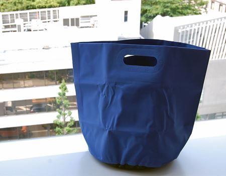 ゴミ袋を重ねてゴミ箱としてもOKですね