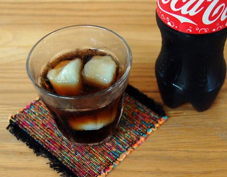 コーラ + ガリガリ君ソーダ味