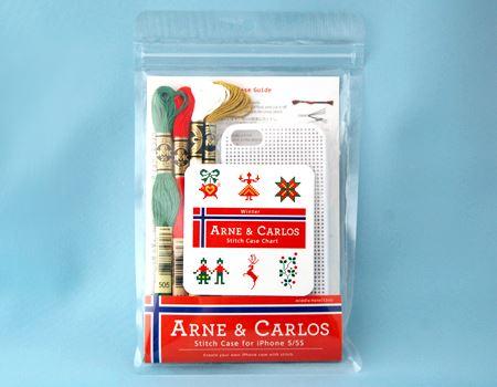 アルネ&カルロス クロスステッチで作るiPhoneケース
