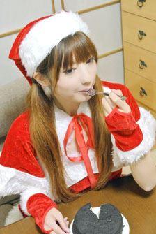 実☆食! (せっかくなので、クリスマスな雰囲気を演出してみました。独りだけど)