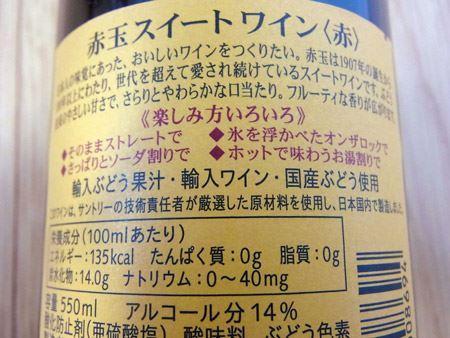 口当たりがよいといっても、アルコール度数は14%あります。飲みすぎにはご注意を
